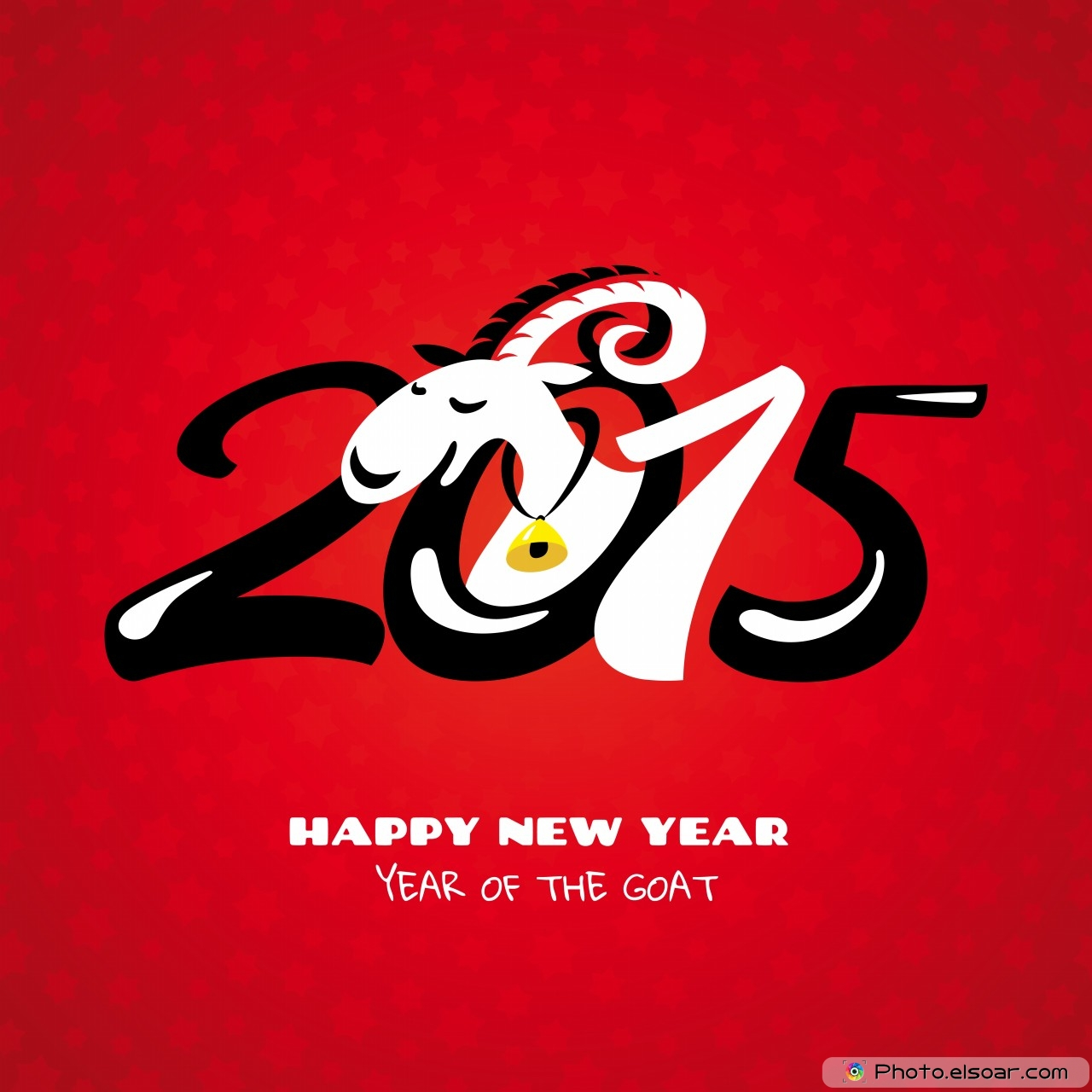 Chinese-2015-New-Year-Card-With-Goat