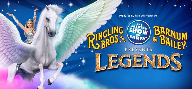 Ringling Brothers' Legends at 2 Locations