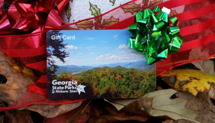 Georgia State parks gift card