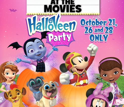Disney Junior at the Movies – HalloVeen Party!