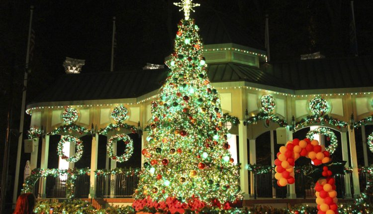 """Named one of the top Christmas events in Georgia for 2017, the world record-holding Holiday in the Park® wintertime celebration returns to Six Flags Over Georgia—the Thrill Capital of the South—beginning November 18. The holiday wonderland, now in its fourth season, is more spectacular than ever with 16 intricately themed areas, 29 holiday rides, dazzling live shows and festive seasonal food, all combining to make Holiday in the Park the most magical time of the year. Digital Media Kit with Hi-Res Broll and Images: https://sixflags.box.com/v/2017HolidayInThePark """"Holiday in the Park has become the number one holiday destination in the southeast, as we expand with more rides, more magical sounds of the season and more thrills than ever before,"""" said Park President Dale Kaetzel. """"This is one of the largest seasonal events in Georgia, featuring eight world-class roller coasters and more than one million LED lights for the biggest and brightest tradition the entire family can enjoy together."""" Holiday in the Park will offer guests new, enchanting entertainment and the return of guest-favorite holiday thrills, including: New in 2017, Metropolis Park will light up the Georgia night with hundreds of blue and white sparkling lights, along with two new iconic super hero rides now open for Holiday in the Park – JUSTICE LEAGUE: Battle For Metropolis in 4D and SUPERMAN: Ultimate Flight; The magical Main Street Christmas park entrance with a 165,000 twinkling light canopy and artificial snow; All-aboard the North Pole Express train ride to see Santa at the North Pole; A spectacular state-of-the-art choreographed light show Magic of the Season; and The iconic highlight of the event—the historic 1908 Riverview Carousel at Candlelight Carousel featuring more than 100,000 lights and 250 luminary candles, among other themed areas. Holiday in the Park at Six Flags Over Georgia holds the GUINNESS WORLD RECORDS™ title for Most couples kissing under the mistletoe. In 2015, more than 400 g"""