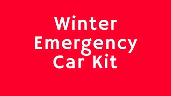 Winter EmergencyCar Kit