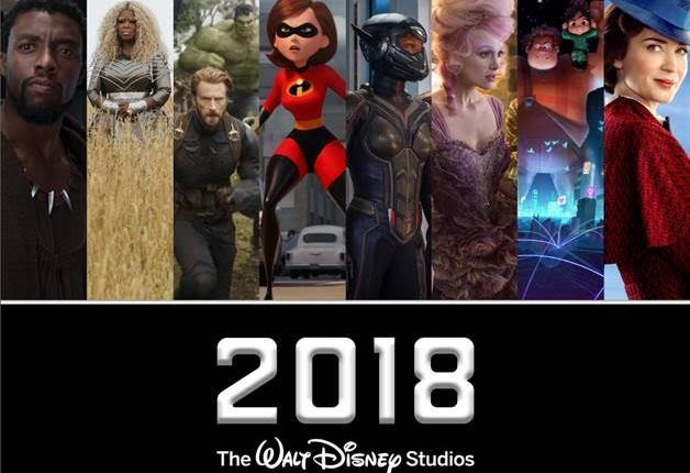 2018 Walt Disney Movies