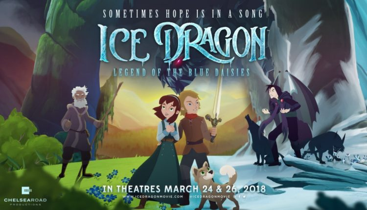Ice Dragons Legend of the Blue Daisies