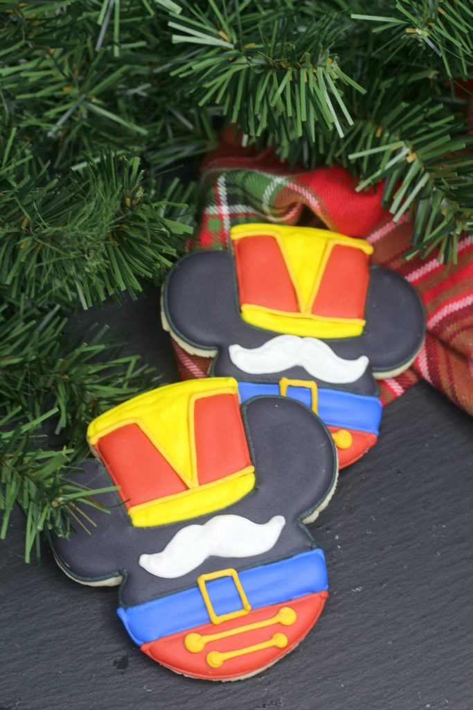 Mickey Mouse Nutcracker Sugar Cookie