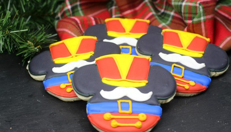 Mickey Mouse Nutcracker Cookie