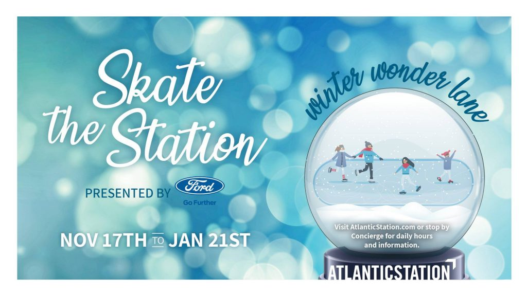 Atlantic Station Ice Skating
