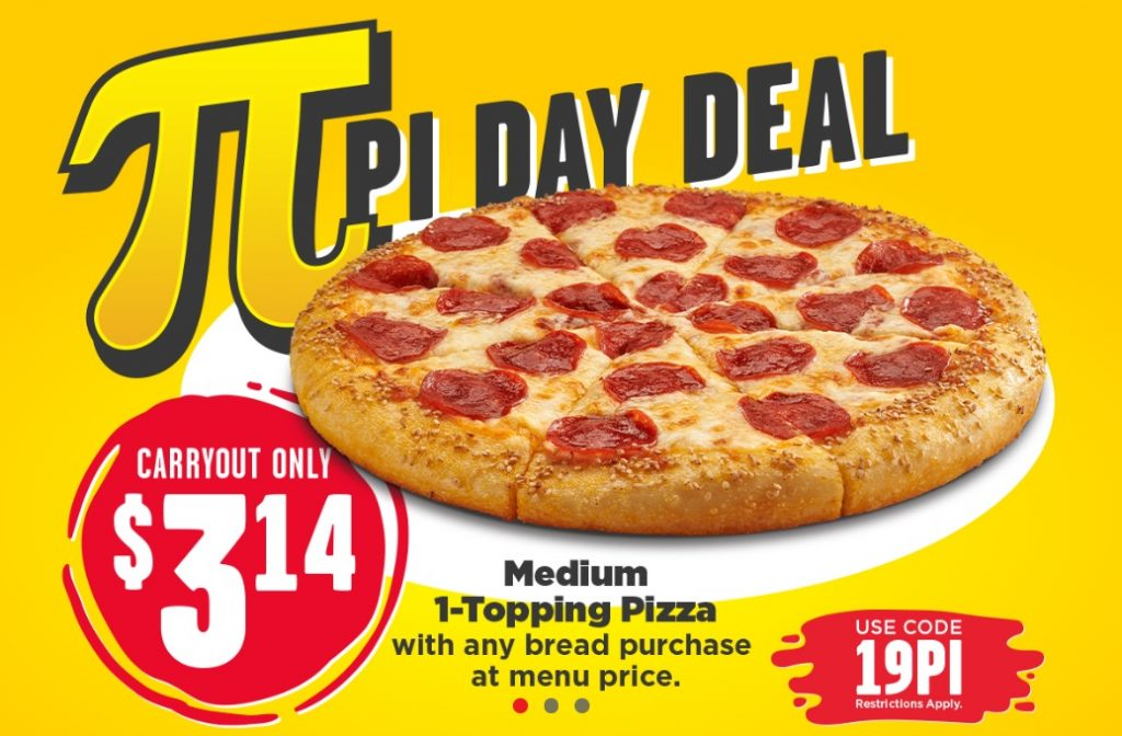 Hungry Howies Pi Day