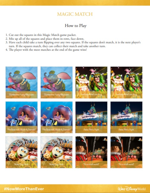 printable-Disney-matching-game